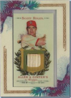 2007 Allen Ginter Rolen Jersey