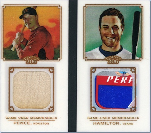 2010 T206 Hamilton Pence Mini Book Front
