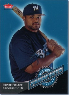 2006 Fleer Trad Fielder Blue Chip