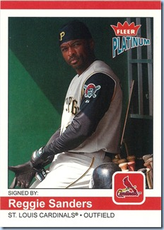 2004 Fleer Platinum Sanders