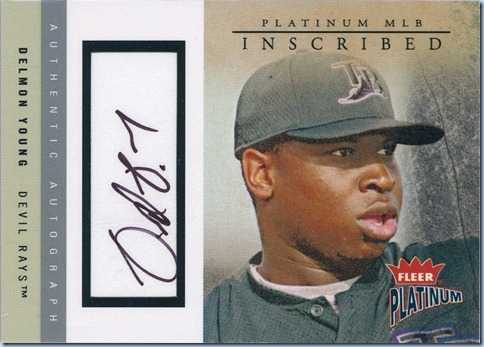 2004 Fleer Platinum Young Auto 86 of 210