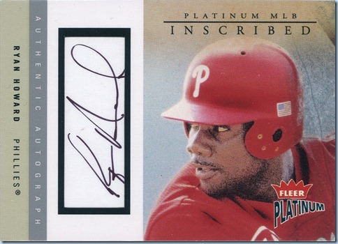 2004 Fleer Platinum Howard Auto 40 of 160
