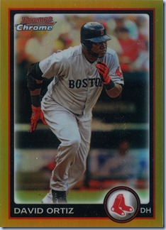 2010 Bowman Chrome Ortiz Gold Refractor