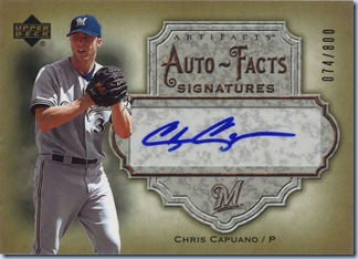 2006 Artifacts Capuano Auto 74 of 800