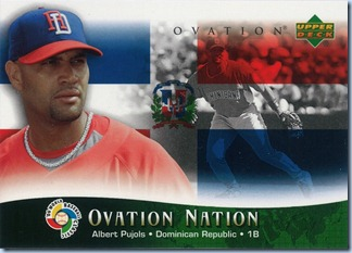 2006 Ovation Pujols Ovation Nation