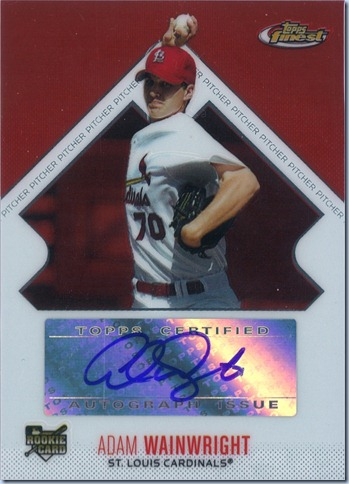 2006 Topps Finest Wainwright