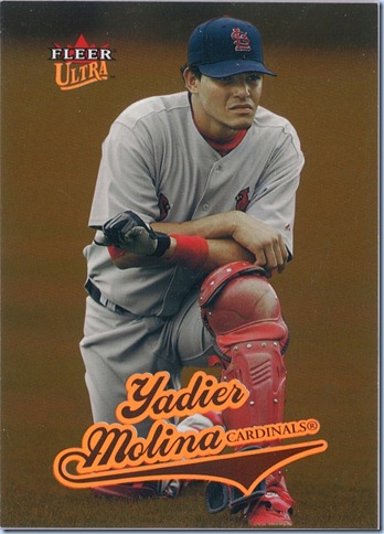 2004 Fleer Molina Gold RC