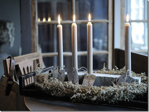 rustic advent