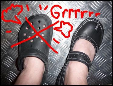 Chaussures grrrr