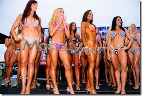 Fitness America Beverly Hills Bikini Contest FBB Athelets 2010