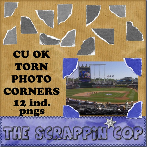 http://thescrappincop.blogspot.com/2009/11/cu-ok-torn-photo-corners.html
