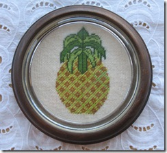 Etsy Pineapple Cross Stitch