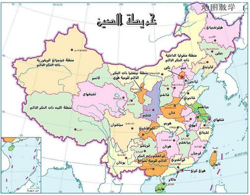 خريطة الصين China