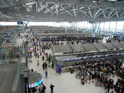 مطار بانكوك تايلاند