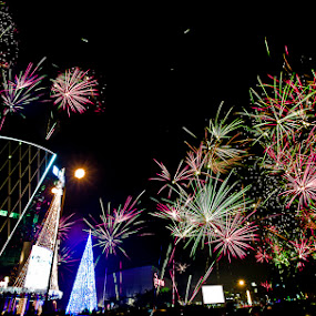 2014 Fire Work at Serpong by Andrial Kusuma - Public Holidays New Year's Eve