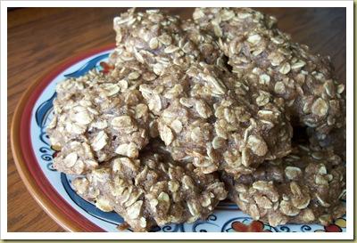Chai Oatmeal Cookies
