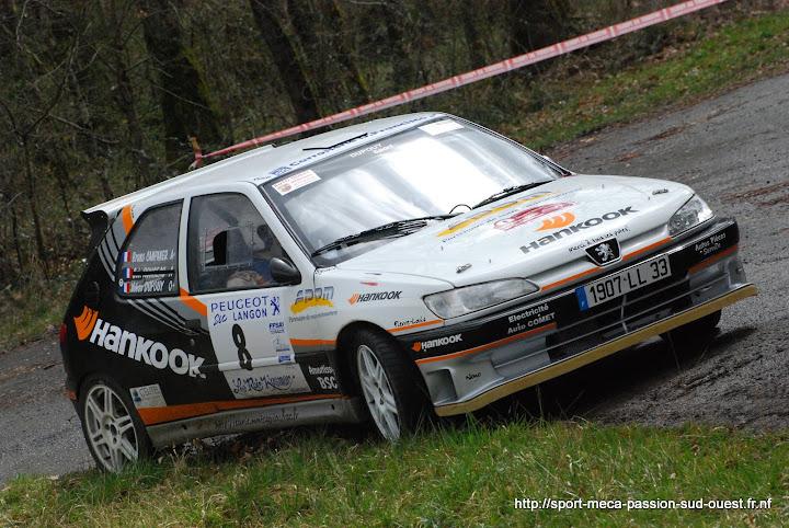 Yohan DUPOUY / Bruno CAMPANER  - 306 S16 F2/14 Rallye%20des%20C%C3%B4tes%20de%20Garonne%202010%20061