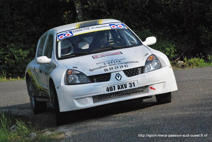 Cédric TEISSEYRE / Valérie TIRBOIS - Clio RS F214 Rallye%20du%20Quercy%202010%20148