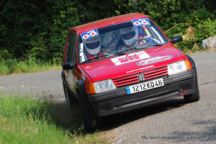 Fabien BEL / David LABORIE - 205 GTI F2/13 Rallye%20du%20Quercy%202010%20253