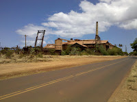 Another abandoned sugar mill near Kekaha