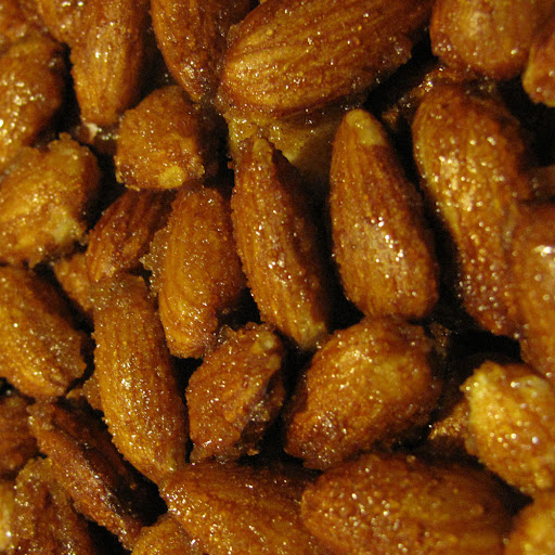 Organic Sweet and Spicy Almonds 8oz jar