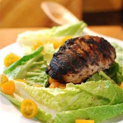 Lightened-Up Chicken Caesar Platter