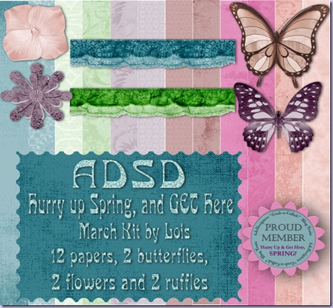 ADSD Hurry Spring Mar09 kit Preview by Lois