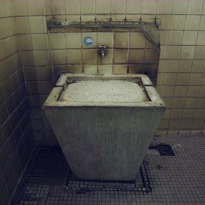 水飲み場:神楽坂あたり