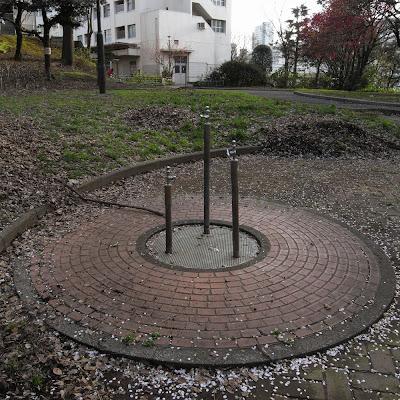 水飲み場:戸山公園 06