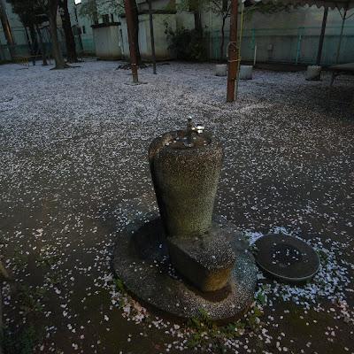 水飲み場:雑司が谷二丁目四っ家児童遊園