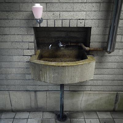 水飲み場:東京国立博物館