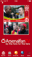 Screenshot of Arsenal Fan TV