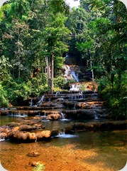 Nam Tok Pha Charoen National Park Waterfall Mae Sot Thailand