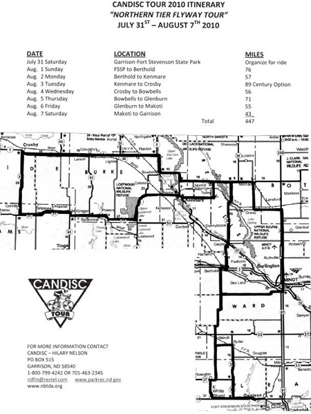 CANDISC map
