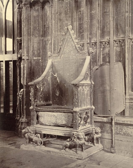 Stone of Scone Coronation Chair