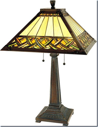 Paul Sahlin Tiffany Celtic Lamp