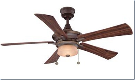 wintrop ceiling fan in bronze finish
