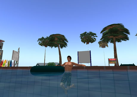second life holliday relax