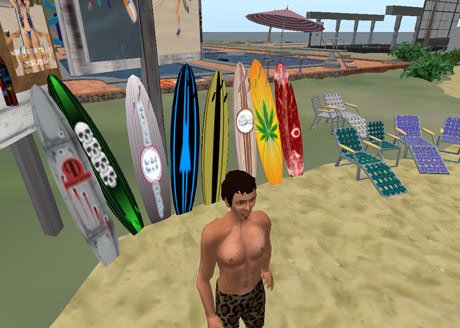 second life pool swim