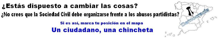 Campaña «Un ciudadano, una chincheta»