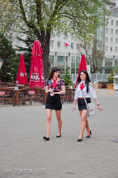 Девушки. Познань. Польша. 4843