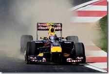 Webber nelle prove libere del gran premio della Corea