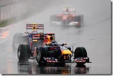 Le due Red Bull nel gran premio della Corea