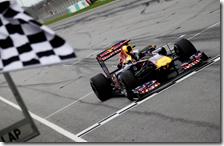 Vettel vince il gran premio della Malesia 2011