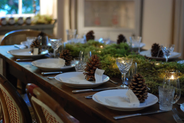 little winter bride: WEDDING DETAILS: Winter Table Setting