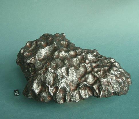 Campo del Cielo Iron Meteorite, photo courtesy of Meteor Recon