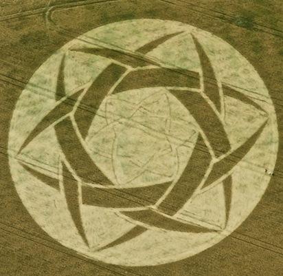 GuysCliffe crop circles