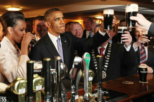 Obama Gets In Touch With His Irish Roots   NPR