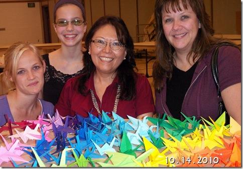 2010-10 origami cranes