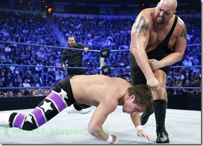 Big Show - Right-handed knockout hook